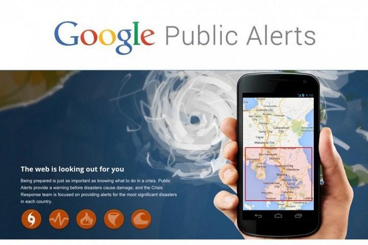 Avisos Públicos do Google