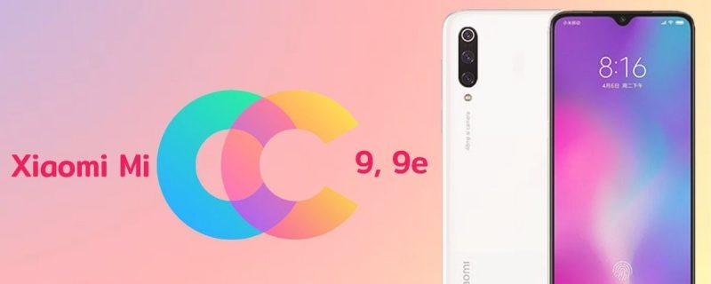 Xiaomi CC9 e CC9e