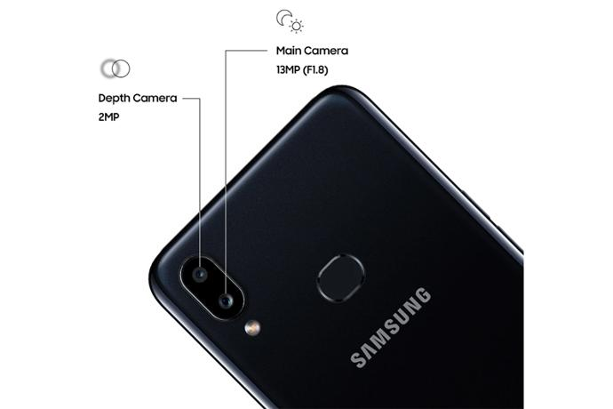 Câmera do Samsung Galaxy A10s
